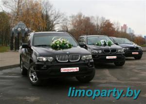Прокат BMW X5 на свадьбу в Гомеле и по гомельской области