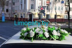 Прокат украшений для автомобилей на свадьбу