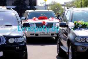 Кортежи на свадьбу из лимузинов и авто представительского класса