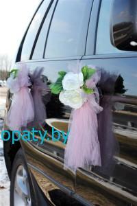 Украшение свадебных авто в Гомеле